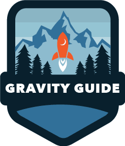 Gravity Guide Badge